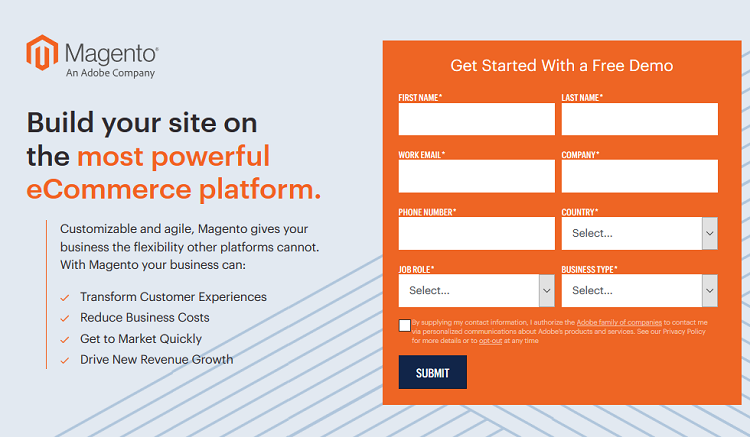 zero navigation example Elements of Highly Converting Landing Pages
