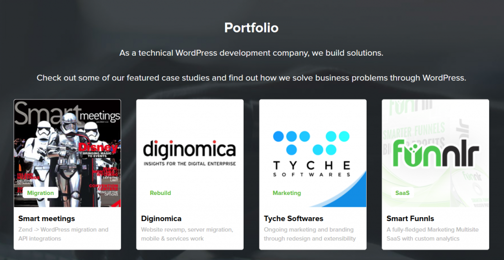 wordpress-agency-portfolio-example WordPress Agency